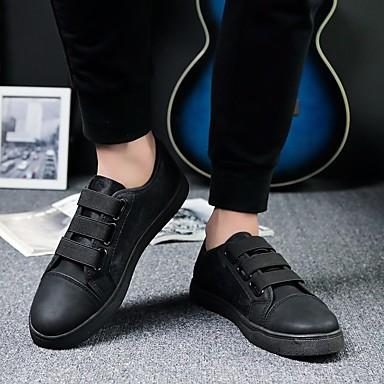 Herren Schuhe Tüll Frühling Komfort Sneakers Mit Für Normal Schwarz Rot