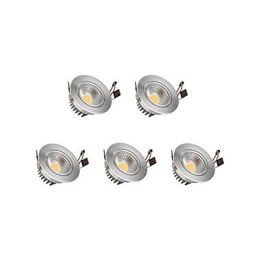 9W 1 LEDs Regulável Downlight de LED Branco Quente Branco Frio AC85-265