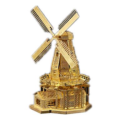 voordelige 3D-puzzels-3D-puzzels Windmolen Plezier Roestvast staal Klassiek Kinderen Unisex Speeltjes Geschenk