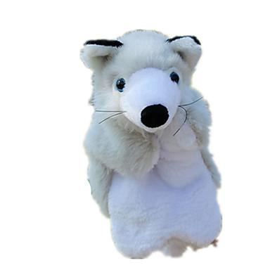 Fantoches de dedo Fantoches Pelúcias Brinquedos Porco Animal Fofinho Animais Adorável Felpudo Tactel Crianças Peças