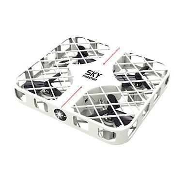 RC Drone JJRC HY382 White 4CH 6 Eixos 2.4G - Quadcópero com CR Luzes LED Seguro Contra Falhas Modo Espelho Inteligente Vôo Invertido 360°