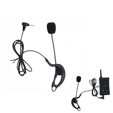 Vnetphone Latest Full Duplex Football Soccer Referee Earphone Motorcycle Referee Headphone for V4/V6/FBIM Intercom Microphone Headset Accessories