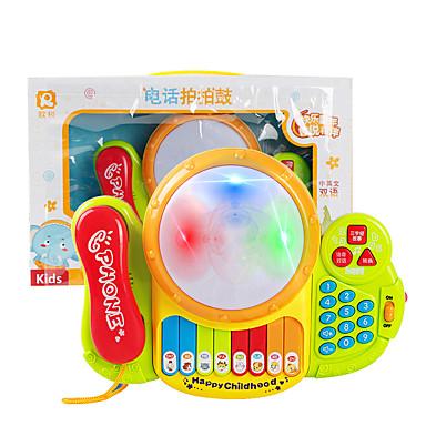 hesapli Oyuncaklar ve Oyunlar-Oyuncak Bebek Aksesuarları Elektronik Klavye Müzik Oyuncak Eğlence Plastikler Çocuklar için Oyuncaklar Hediye