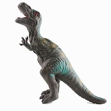 Dragões & Dinossauros Brinquedos Figuras de dinossauro Dinossauro jurássico Carcharodontosaurus Triceratops Tiranossauro Rex Silicone