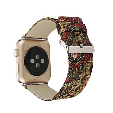 Pulseiras de Relógio para Apple Watch Series 3 / 2 / 1 Apple Fecho Clássico Couro Legitimo Tira de Pulso