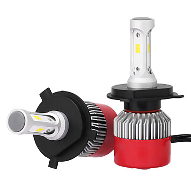 H4 36w / pcs 7200lm kit farol led alto feixe baixo substituir halogênio xenon csp led faróis levou faróis com 2 peças de kits de conversão