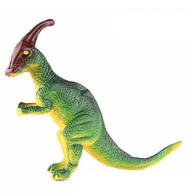 Dragões & Dinossauros Brinquedos Figuras de dinossauro Parasaurolophus Dinossauro jurássico Triceratops Tiranossauro Rex Plástico Crianças