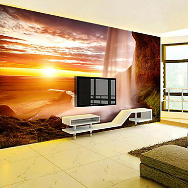 Mural Canvas Wall Covering - Adhesive required Print Scenery 3D Print