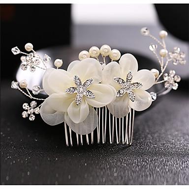 vlasy hřebeny headpiece svatební party elegantní klasický ženský styl