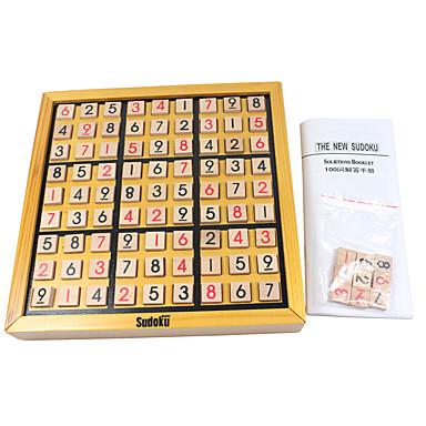 shakkipeli Sudokut Neliö Puinen Unisex Lahja
