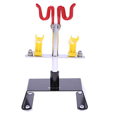 Suporte de aerógrafo kkmoon segurando braçadeira montagem montagem de mesa 4 aerógrafos giratório inclinação conjunto escova de ar