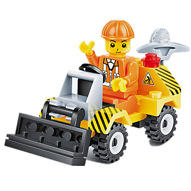 JIE STAR Carros de Brinquedo / Blocos de Construir 38 pcs Veiculo de Construção / Buldôzeres Unisexo Dom