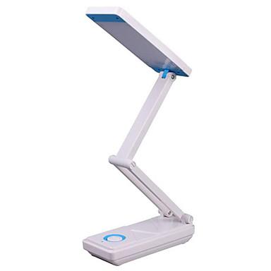 Módní a moderní Ochrana očí Stolní lampa Pro Plast Vodní modrá / Rubínově červená