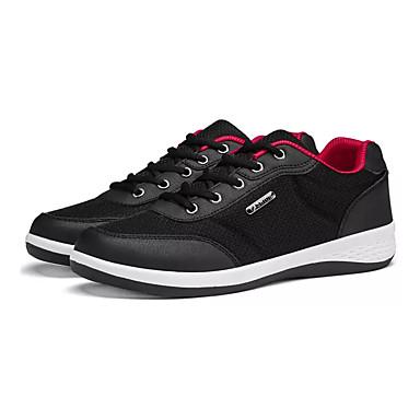 Homme Polyuréthane Printemps Confort Chaussures d'Athlétisme Noir / / / Gris / Bleu | Soldes  76e712