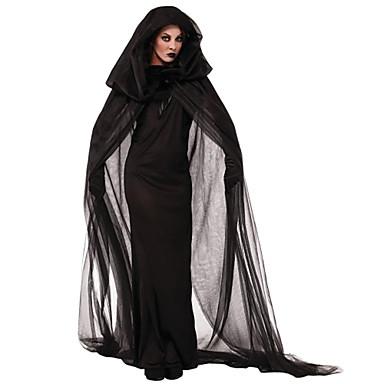 Easter Day Black Polyester Devil Cosplay Women Demon Halloween Costumes
