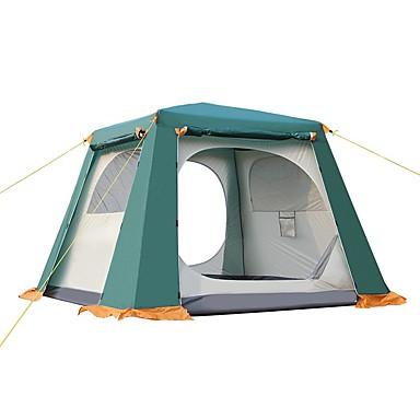 CAMEL 3-4 Personen Zelt Kuppelzelt mit Netz Doppel Camping Zelt Automatisches Zelt für Camping Reisen CM Einzimmer
