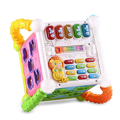 Blocos de Construir Acessório para Casa de Boneca Blocos do bebê Brinquedos Quadrada Plásticos Peças Crianças Dom