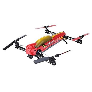 RC Drohne WLtoys V383 6 Kanäle 6 Achsen 2.4G Ferngesteuerter Quadrocopter Ein Schlüssel Für Die Rückkehr / Auto-Takeoff / Kopfloser Modus Ferngesteuerter Quadrocopter / Fernsteuerung / Kamera