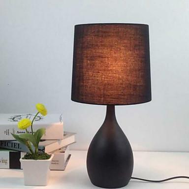 Nykyaikainen Ambient Valaisimet Pöytälamppu Käyttötarkoitus Metalli 220-240V Musta Tumman harmaa
