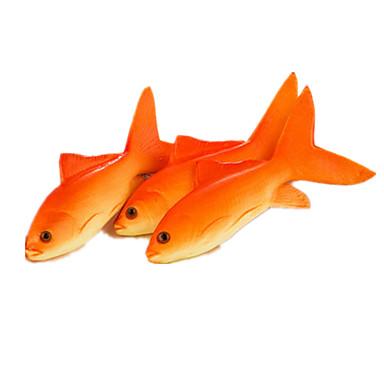 Comida de Brinquedo Peixes Plásticos Unisexo Dom