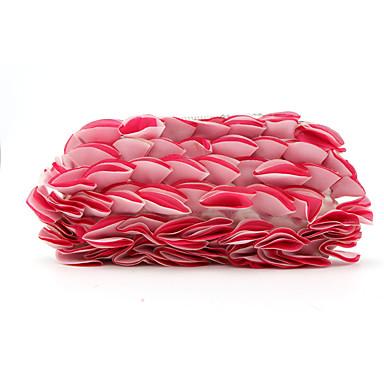 Damen Taschen Polyester Seide Geldbörse Schleife(n) Blume(n) für Ganzjährig Weiß Rote Rosa Purpur