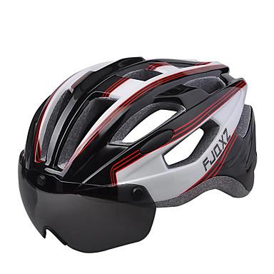 FJQXZ Jezdit na kole Helma Osvědčení Cyklistika 17 Větrací otvory Unisex 1680D voděodolný materiál Horská cyklistika Silniční cyklistika