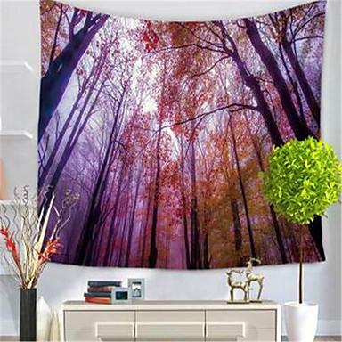 Landschaft Wand-Dekor Polyester / Polyamid Klassisch Wandkunst, Wandteppiche Dekoration