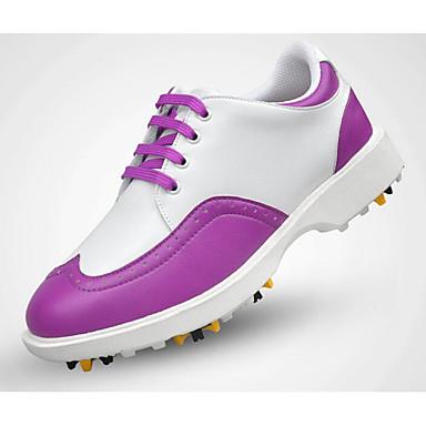 Sapatos para Golf Mulheres Golf Macio Confortável Esportes Esportes Espetáculo Praticar Esportes Relaxantes Estilo Artístico Estilo