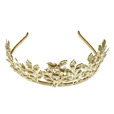 legering tiaras headbands blomster headpiece klassisk feminin stil
