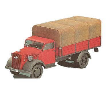 3D-puslespill Puslespill Papirkunst Trailer simulering GDS Klassisk Truck Barne Gutt Unisex Gave