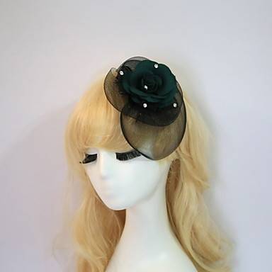 Resin Cotton Fascinators Flowers Hats Headpiece Classical Feminine Style