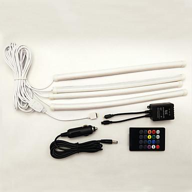 2pcs Carro Lâmpadas SMD 5050 LED Iluminação interior