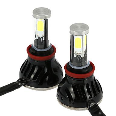 2pcs H16 / H9 / H11 Auto Lamput 40 W 4000 lm Sumuvalot