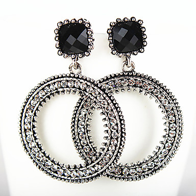 Women's Drop Earrings - Fashion, Euramerican White / Black For Daily / Casual