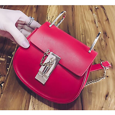 Women Bags All Seasons PU Shoulder Bag for Casual Outdoor Blue White Red