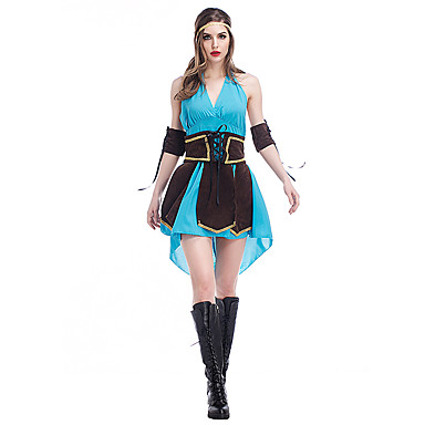 Soldier/Warrior Queen Cosplay Cosplay Costumes Party Costume Female Halloween Carnival Festival/Holiday Halloween Costumes Vintage