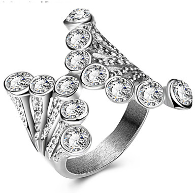 Women's Ring Settings Ring Band Ring Cubic Zirconia Personalized Luxury Unique Design Animal Design Classic Basic Sexy Friendship British