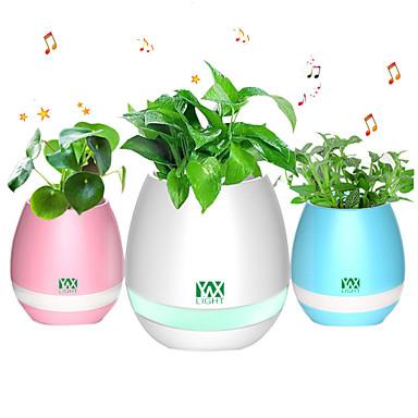 YWXLIGHT® 1 Pça. LED Night Light / Luzes USB USB Smart / Bluetooth Moderno / Contemporâneo