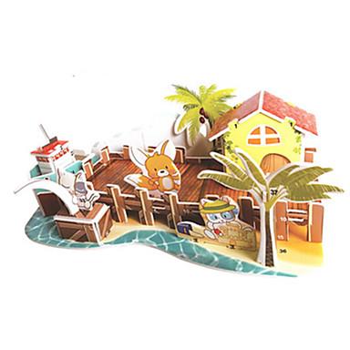 3D építőjátékok / Fejtörő / Modeli i makete Népszerű épület DIY Kartonpapír Klasszikus / Anime / Rajzfilmfigura Gyermek Uniszex Ajándék