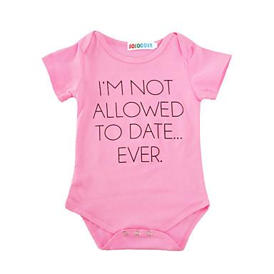 Baby Girls' Print Short Sleeve Cotton Bodysuit / Toddler