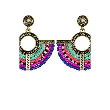 Women's Drop Earrings Personalized Luxury Geometric Unique Design Tassel Classic Vintage Bohemian Basic Friendship Elegant Euramerican