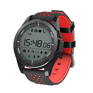 Smartwatch F3 for iOS / Android Calories Burned / Water Resistant / Water Proof / Pedometers / Information / Camera Control Pedometer / Sleep Tracker / Sedentary Reminder / Alarm Clock / Chronograph