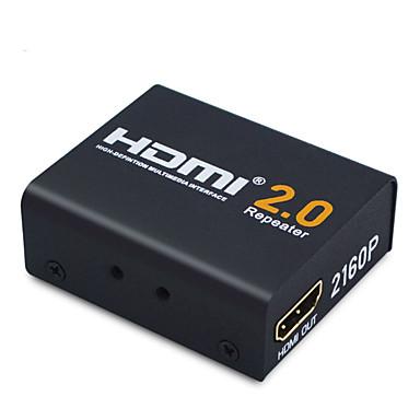 YW-HZ20 2 HDMI 2.0 HDMI 2.0 Naaras - Naaras 4K*2K 20 Gbps