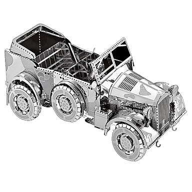 3D Puzzles Metal Puzzles Model Building Kit Car 3D Furnishing Articles Chrome Metal Adults' Unisex Gift