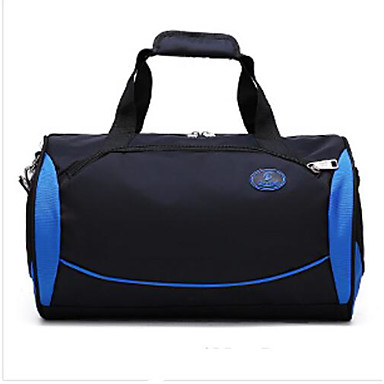 Unisex Bags All Seasons PU Oxford Cloth Polyester Travel Bag for Casual Outdoor Blue Black Amethyst
