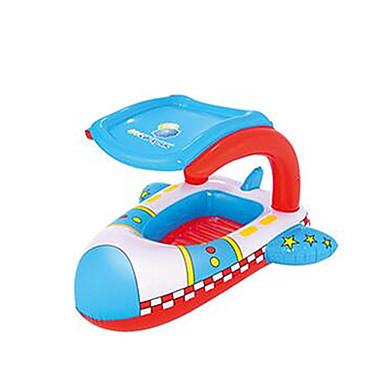 Boias de piscina infláveis Espreguiçadeiras de piscina Brinquedos Outros Pato Carro Navio PVC Crianças Peças
