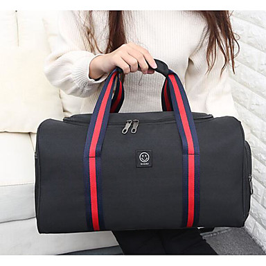 Unisex Bags Oxford Cloth Polyester Travel Bag for Casual Outdoor All Seasons Blue Black Gray