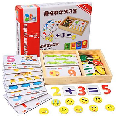 voordelige Rekenspeelgoed-Educatieve geheugenkaartjes Rekenspeelgoed Educatief speelgoed Vierkant Puinen Kinderen Geschenk