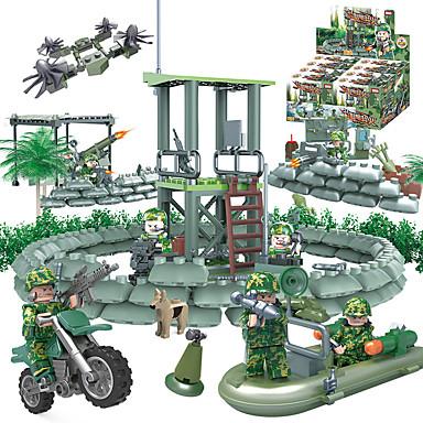 GUDI 8009 Blocos de Construir Bonecos em Blocos de Montar Brinquedo Educativo 318 Tanque Lutador Crianças Para Meninos Unisexo Dom