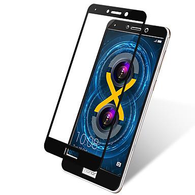 Képernyővédő fólia Huawei mert Honor 6X Edzett üveg 1 db Védőfólia Karcolásvédő Robbanásbiztos 2.5D gömbölyített szélek 9H erősség High